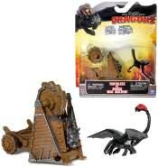 Auswahl Battle Drachen Set | DreamWorks Dragons | Action Spiel Set Ohnezahn Wikinger
