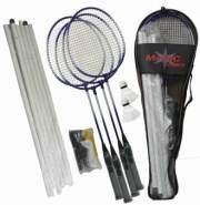 MTS Sportartikel - Badminton Komplett-Set - Magic Sports