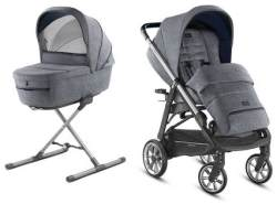 Inglesina 'Aptica – Kit System Duo' Kinderwagen 2 in 1 2020, Niagara Blue