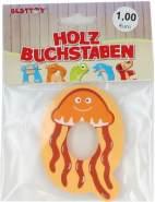 Besttoy Holzbuchstabe 'Q' orange