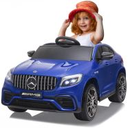 Ride-on Mercedes-Benz AMG GLC 63 S Coupé blau 12V