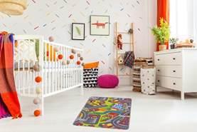 misento Kinderteppich Straßenteppich 80 x 120 cm