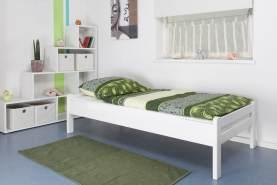 Steiner Einzelbett 'Easy Premium Line K1/1n weiß, 90x200 cm