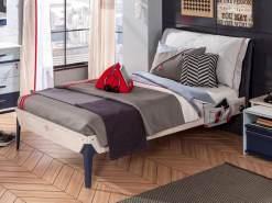 Cilek 'TRIO' Kinderbett 120x200cm Holz White-Wash