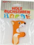 Besttoy Holzbuchstabe 'F' orange
