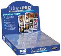 Ultra Pro - 9er Hüllen - 100 Seiten