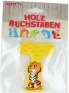 Besttoy Holzbuchstabe 'T' gelb