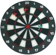 Tolles Dartspielset, mit Dartscheibe und 6 Softdartpfeilen, von Eduplay