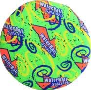 Splash & Fun Wurfscheibe Neon Color, im Netz, sort