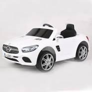 Toys Store - Mercedes Benz SL500 AMG Kinder Elektro Auto Fahrzeug Kinderauto MP3 AUX USB weiß