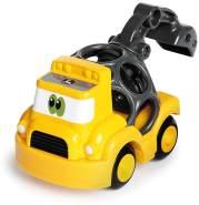 Kids II Oball Go Grippers John Deere - Baufahrzeug mit Schaufel