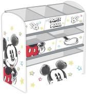 Disney 'Mickey Mouse' Kinderregal, weiß, inkl. 6 Stoffschubladen