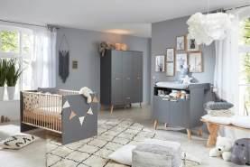 Stylefy Matti Kinderzimmer-Set Grau Grau
