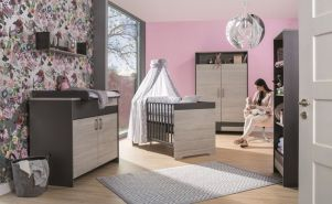 Schardt 'Clou' 3-tlg. Babyzimmer-Set Schrank 2-türig