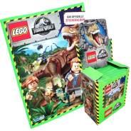 CAGO Lego Jurassic-World - Sammelsticker - 1 Display (50 Tüten) + 1 Album