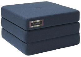 KlipKlap 3 Fold Single Dark Blue