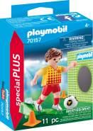 Playmobil Special Plus 70157 'Fußballspieler mit Torwand', 11 Teile, ab 4 Jahren
