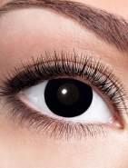 Zoelibat Kontaktlinse Black Witch dpt. -1,0 bis -4,0, Größe: -1,5 Dioptrien