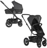Easywalker 'Harvey 2 All-Terrain' Kombikinderwagen 2 in 1 Night Black