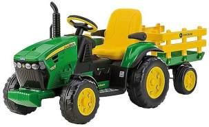 Peg Perego 12V Traktor John Deere mit Anhänger