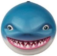 spritzball SeanimalsShark 9 cm Schaumstoff blau, weiß