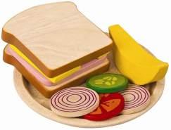 Plantoys - Spielzeug-Sandwich Mahlzeit