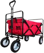 Outdoor Active - Bollerwagen aus Metall (faltbar)