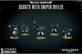 Space Marines Scouts With Sniper Rifles ***