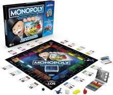 Monopoly 'Banking Cash-Back' Brettspiel; ab 8 Jahren, 2-4 Spieler, mit elektronischem Kartenleser, Cash-Back Bonus, bargeldloses Zahlen, Scan-Technologie