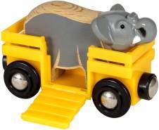 BRIO Bahn 33969 - Tierwaggon Elefant