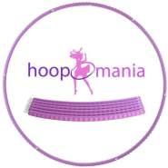 Hoopomania Profi Hoop, Hula Hoop aus Metall und Schaumstoff, 1. 1 kg