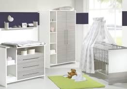 Schardt 'Eco Silber' 2-tlg. Babyzimmer-Set