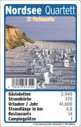 Teepe 23554 Kartenspiel Nordsee Quartett, Keine Angabe