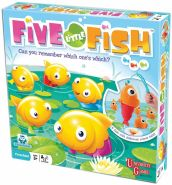 UNIVERSITY GAMES 1270 Five Little Fish
