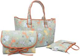 """Safari Wickeltasche Set - Shopper Bag"""