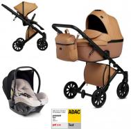 Anex 'e/type' Kombikinderwagen 4plusin1 2020 in Caramel mit Avionaut Babyschale