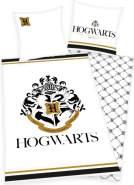 Harry Potter Bettwäsche mit Golddruck 135 x 200 cm