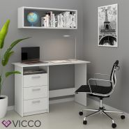 VICCO 'Meiko' Schreibtisch, Weiß