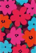 Sam 4135 Multi / Pink Flowers 90x160 cm