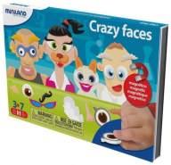 unterwegs magnetisches Sprachspiel: verrückte Gesichter
