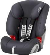 Britax Römer Kindersitz 9 Monate - 12 Jahre I 9 - 36 kg I EVOLVA 123 Autositz Gruppe 1/2/3 I Storm Grey