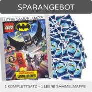 Blue Ocean - LEGO Batman 2019 - Trading Cards - Komplettsatz + leere Sammelmappe - Deutsch
