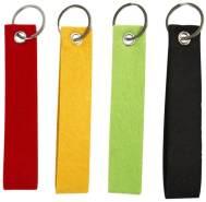 Schlüsselanhänger 4 Stück sortiert, 1 Stück, zufällige Auswahl, keine Vorauswahl möglich