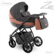 Camarelo Zeo - Kombikinderwagen - Zeo-3 schwarz/ braun