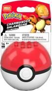 Mattel GKY71 Mega Construx Pokemon Glumanda mit Pokeball 16 Teile
