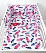 Babylux 'Feder' Kinderbettwäsche 40 x 60/90 x 120 cm