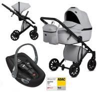 Anex 'e/type' Kombikinderwagen 4plusin1 2020 in Marble mit Swandoo Babyschale
