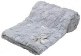 Soft Touch Deckensterne 75 x 100 cm Polyester grau
