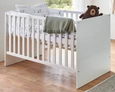Arthur Berndt 'Kiara' Kinderbett 70 x 140 cm inkl. Lattenrost 4-fach höhenverstellbar Weiß