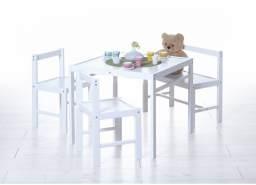 Ticaa Kindersitzgruppe Kiefer Weiß